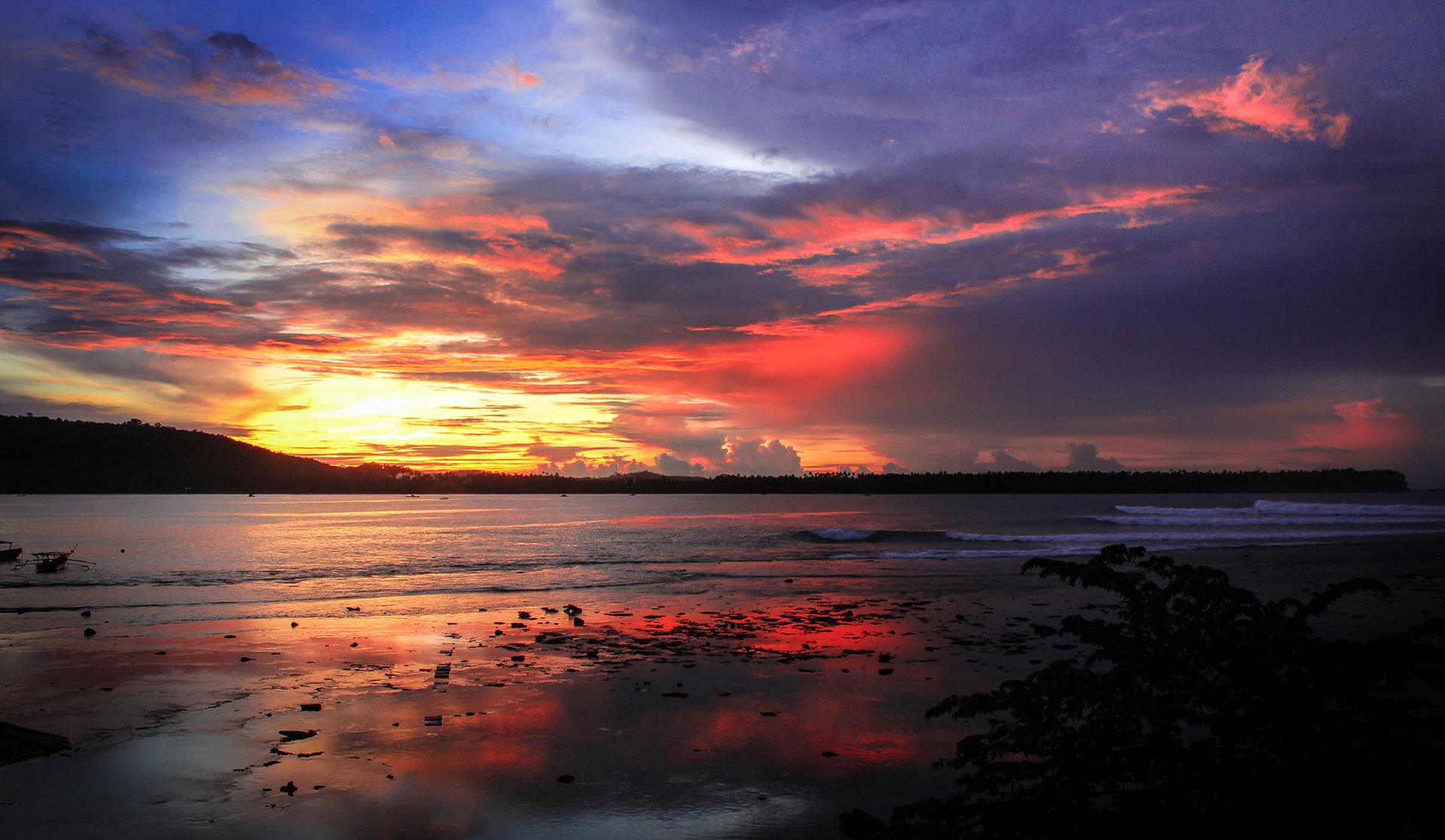 nias sunset